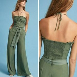 NEW Maeve Olive Strapless Crop with Halter